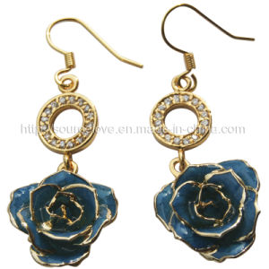 Fashion Jewelry - Gold Plated Pierced Earrings (EH022)