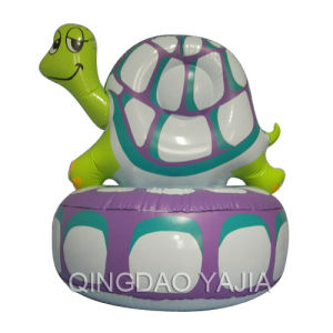 Pvc Inflatable Children Sofa-Tortoise(1013)
