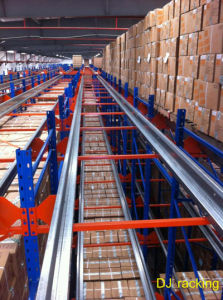 Automatic Radio Controlled Shuttle Racking