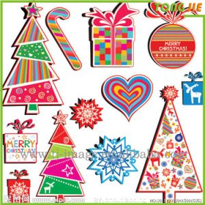 Christmas Window Personality Design Create Your Own Stickers pictures & photos