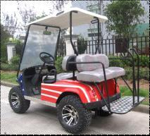 Electric Golf Car with 4kw Motor Gbt-E2-2s