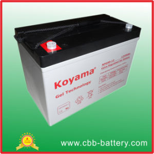 12V90ah Deep Cycle Battery, Solar Battery, Electric Vehicles Battery