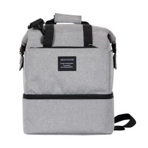 High Quality Waterproof Picnic Lunch Bag Insulated Cooler Bag Ice Bag Lunch  Box Cool Bag