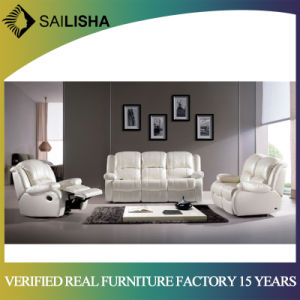 Modern Leather Fabric Reclining Sofa Bed Single Chair Home Cinema Furniture Recliner