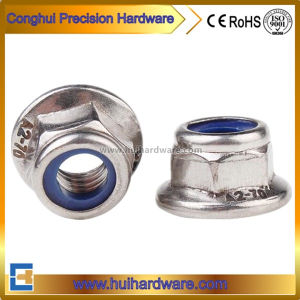 Stainless Steel Hexagon Nylon Insert Flange Nut A2~70 pictures & photos
