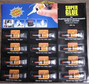 Daily Usage Super Glue 12 Tubes pictures & photos