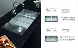 Stainless Steel One Stretched Kitchen Sink (sgp-004)