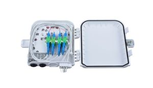 8cores Plastic Outdoor FTTH Distribution Splitter Box Fiber Optic Splitter Box pictures & photos