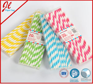 Latest Food Grade Fancy Drinking Art Straws Plastic Straws pictures & photos