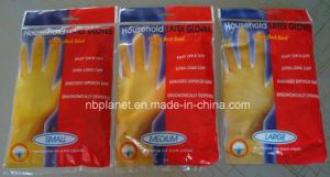 Cotton Lined Inside All Sizes Latex Glove pictures & photos