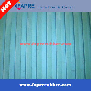 Broad Ribbed Rubber Mat with 3mm-8mm