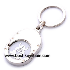 Custom Design Promotion Metal Trolley Coin (BK52819) pictures & photos