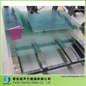 2-10mm Clear Float Refrigerator Glass Panel with Toughened
