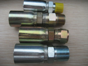 Hydraulic Hose Fittings Cartoon Steel / Stainless Steel pictures & photos