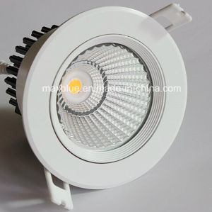 15W Epistar COB Dimmable LED Ceiling Downlight with Ce RoHS pictures & photos