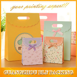 Paper Shopping Gift Bag for Packaging (BLF-PB271) pictures & photos