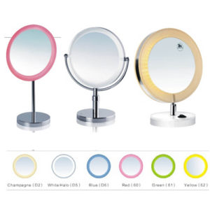 Bathroom Table Makeup Mirror with Light pictures & photos