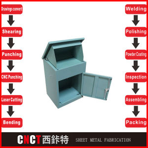 Parcel Mail Box Galvanized Steel Box Parcel Delivery Box pictures & photos
