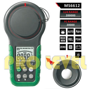 Hot Sale Digital Light Meter (MS6612) pictures & photos