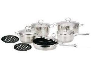12PCS Straight Body Cookware Set