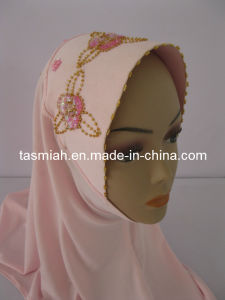 High Quaity Hand Crafted Hijab Cap Islamic Scarf
