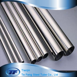 ASTM 304 ERW Mirro Finished Decoration Stainless Steel Pipe
