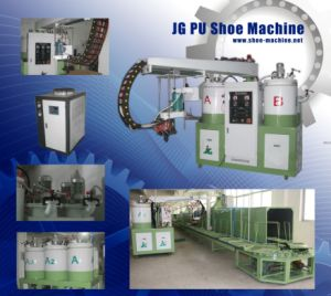 CE PU Shoe Pouring Machine (JG-807)