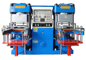 Vacuum Vulcanizer Press Rubber Equipment for Silicome Band Bracelet (20V2) pictures & photos