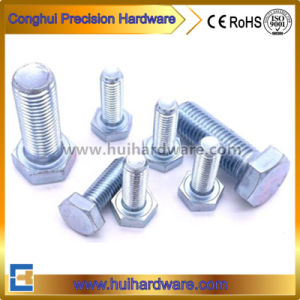 Galvanized Full Threaded Hexagon Bolt M20*35mm-150mm pictures & photos