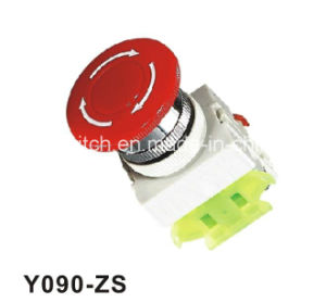 Y090-Zs Auto-Locking Emergency Mushroom Push Button Switches pictures & photos
