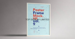 Slide-in Poster Frames Quick Poster Change Snap Poster Frame pictures & photos