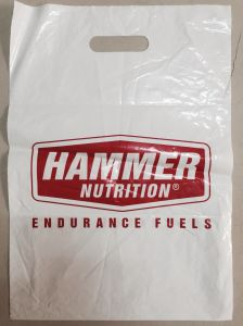 Four Color Printed Die Cut Plastic Bags for Textile (FLD-8568)