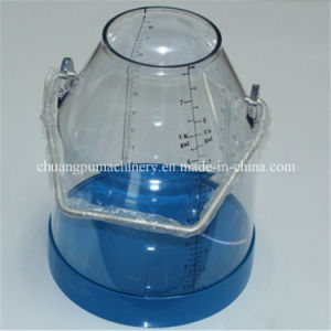Transparent Milking Buckets with Cover pictures & photos