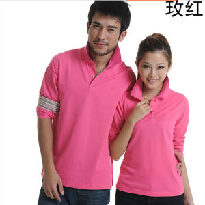 Men`S Long Sleeve Polo Shirt pictures & photos