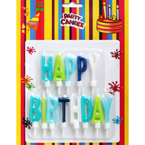 Letter Birthday Candle Gift (ZMC0015)