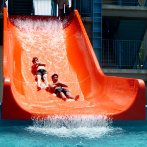 Wide Tube Fiberglass Water Slide (ZC/WS/RF-01) pictures & photos