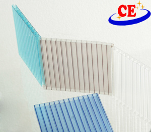 Polycarbonate Hollow Roofing Sheet