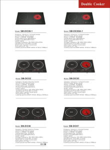 Aluminum Alloy Body 600 Heating Temperature Infrared Cooker /Radiant Cooker pictures & photos