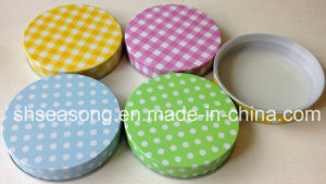 Tin Lid with Printing / Metal Cap / Bottle Cover (SS4502) pictures & photos