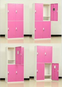 Add on 4 Compartment 2 Line Metal Locker pictures & photos