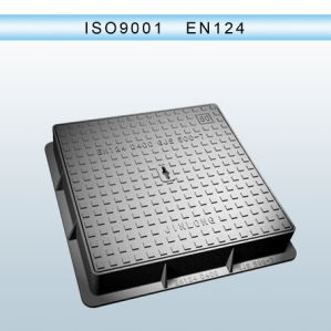 Anti-Theft Ductile Iron Manhole Covers with Locks En124