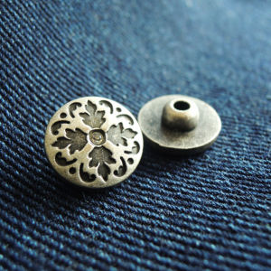 Customized Metal Rivet for Jeans (HDZL130046) pictures & photos