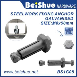 Galvanized Carbon Steel Concrete Steelwork Wedge Anchor Bolts