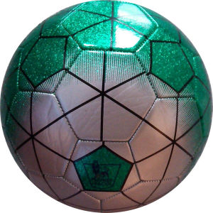 Metallic Leather Soccer Ball (DSTU - 3)
