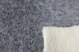 Knitting Fabric Composite PV Plush Suede Bonded Fur pictures & photos