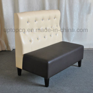 Double Color Bar Booth Sofa for Night Club (SP-KS296) pictures & photos