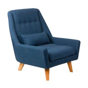 Classic Wood Design Fabric Hotel Chair (C019)