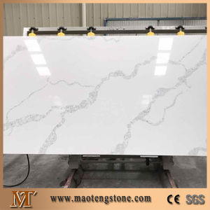 Artificial Quartz Calacatta White Quartz Slab for Countertop