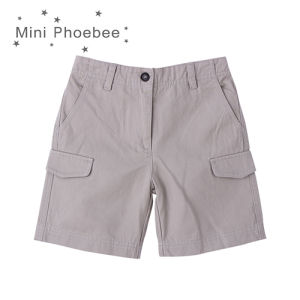 Phoebee Children Wear Boys Summer Shorts with Big Pockets pictures & photos