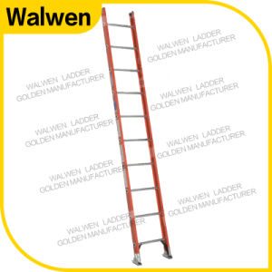 New Coming One Section Fiberglass Straight Ladder Insulated Ladder pictures & photos